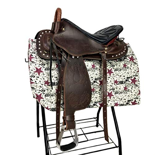 Sattelauflagen Pure Cowhide Western Tourists Saddle Endurance Saddle Fine Riding Saddle Horse Supplies,Brown