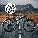 Best Foldable Bikes - CatNonu Folding Mountain Bike for Men Women, 26 Review