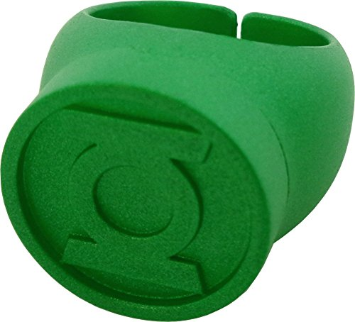 Blackest Night Green Lantern Ring Authentic DC Comics Plastic by DC Comics TOY (English Manual)