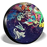ETGeed Psychedelsbeautiful-Psychedelic Tire Cover Polyester Fahrzeugzubehör