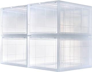Shoe Box, Boite Chaussures Songmics, Boîtes en Plastique pour Le Rangement et l'organisation des Chaussures Pliable, pour ...