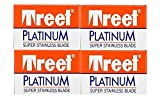 40 Cuchillas de afeitar Treet Platinum