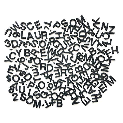 【PECHEオリジナルインテリア】 白黒マニア キッチン 磁石 マグネット 知育玩具 モノトーン 英語 アルファベット Black シンプル 黒 インテリア 北欧風 お洒落 キッチン雑貨 無地