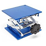 Lift Table Aluminium Oxide Lab Stand Lifter Scientific Scissor Lifting Jack Platform (8'x8')