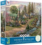 Thomas Kinkade Jigsaw Puzzle - Sunday Morning Chapel - 1000 Piece
