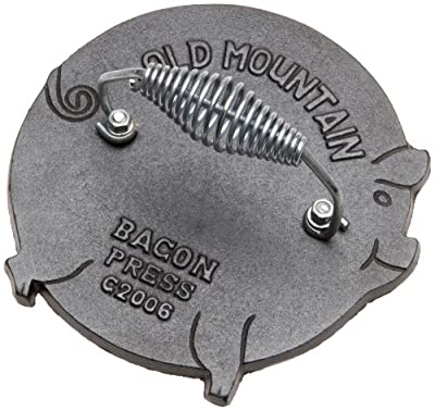 Old Mountain Pig Shaped Bacon/Grill Press