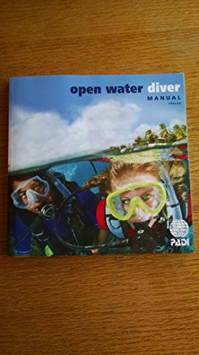 PADI Open Water Diver Manual with Table