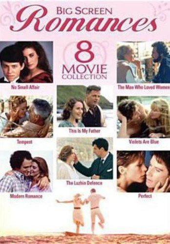 Big Screen Romances - 8-Movie Set - No Small Affair - The Man Who Loved Women - Tempest - This is My Father - Violets Are Blue - Modern Romance - The Luzhin Defence - Perfect