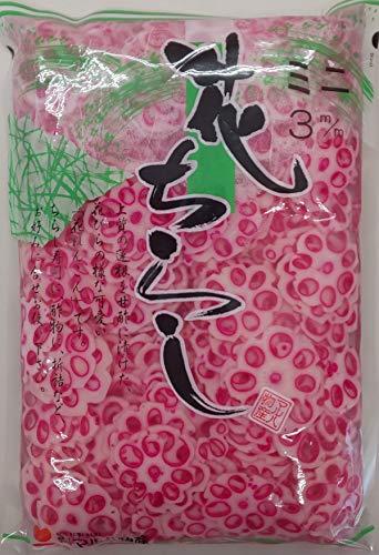 中国産 ミニ 花れんこん チラシ 酢漬け 500g×15P(枚3mmスライス) 業務用 梅花れんこん ちらし