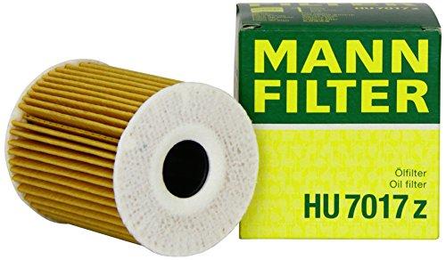 Mann Filter HU 7017 Z, Set de filtro de aceite juego de juntas, Para automóviles
