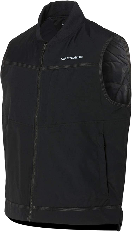 Grundéns Men's Ballast Insulated Vest, Black - Medium