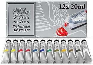 Winsor & Newton Artists' Acrylic Color 12-Tube Set, 20ml