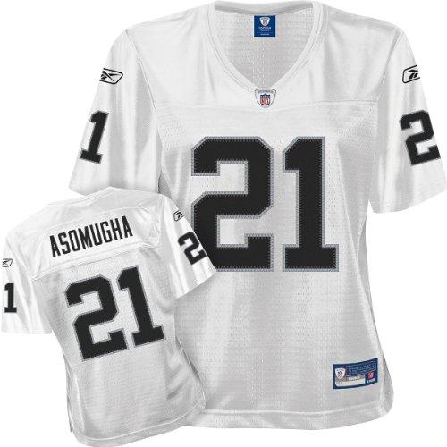 NFL Football Oakland Raiders Asomugha #21 T-Shirt Trikot Damen Jersey (L)