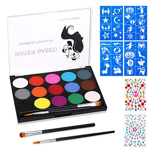 Face Painting Kits for Kids Body Paints for Adults 15
