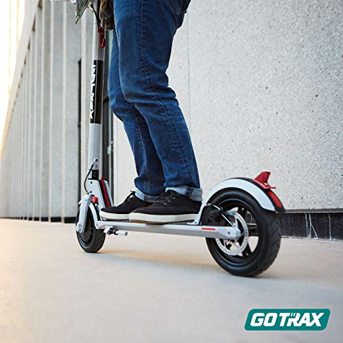 GOTRAX XR Electric Scooter, 12 Miles Long-range Battery, Up to 15.5 MPH, UL Certified Ultra-Lightweight Adult Commuter E-Scooter