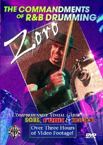 The Commandments of R&B Drumming: A Comprehensive Visual Guide to Soul, Funk & Hip-Hop (DVD) [Reino Unido]