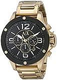 Armani Exchange Men's AX1511 Gold Watch