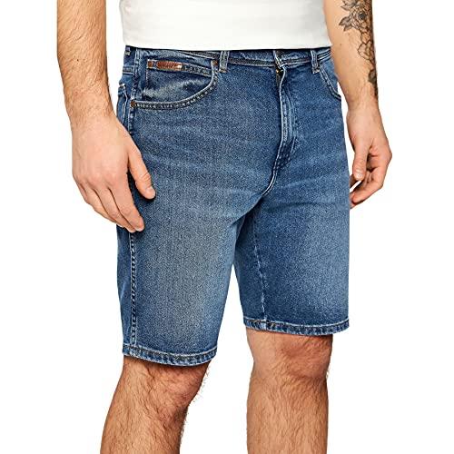 Wrangler Texas Shorts Pantalones Vaqueros, The Ace, 38 para Hombre
