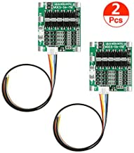 Organizer 2pcs 4S 30A 14.8V Li-ion Lithium 18650 Battery BMS Packs PCB Protection Board Balance Integrated Circuits