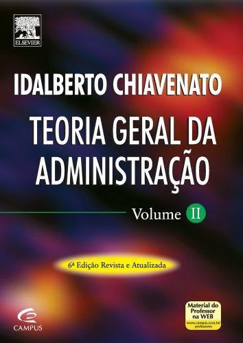 Teoria Geral da Administração - Volume 2