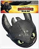 Movie Stars Zahnlos (Toothless) - Offiziell Drachenzähmen leicht gemacht 2 - Gesichtsmasken aus steifen Karten