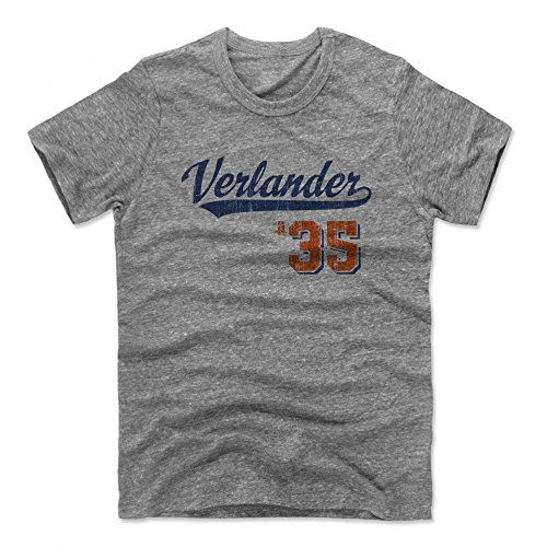 Level 500 MLB Detroit Tigers - Justin Verlander Script Premium T-Shirt, Größe :M