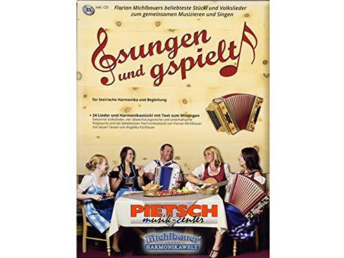 Michlbauer Harmonikawelt, Gsungen und gspielt zum gemeinsamen Musizieren, Griffschrift inkl. CD + 2x Notenbuch