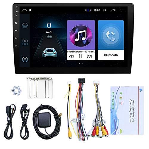 Youmine 10,1 Pulgadas Android 10.1 HD Quad Core Car MP5 Reproductor Multimedia Radio EstéReo 1GB + 16GB WiFi NavegacióN GPS