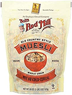 Bob's Red Mill Cereal Muesli, 4 - 18-Ounce Bags ( Value Bulk Multi-pack)