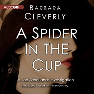 A Spider in the Cup audiobook cover art