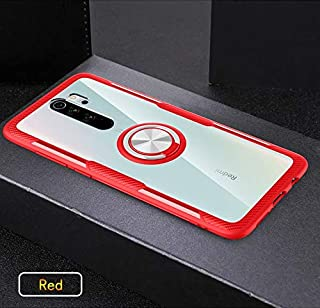 جرابات مناسبة - جراب لهاتف Xiaomi Redmi Note 8 Pro 9S 8T 7 K20 K30 لهاتف Xiaomi mi 9T Note 10 Pro A3 Lite CC9 CC9e (أحمر ل...