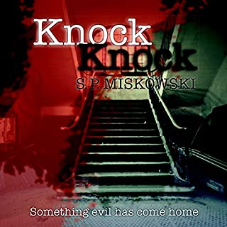 Knock Knock audiobook cover art