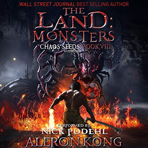 The Land: Monsters audiobook cover art