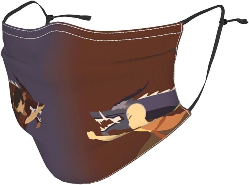A-vatar The Last A-irben-der Kids Face Mask Washable Reusable Balaclava Bandana Adjustable eleastic Ear Loops for Boys Girls