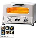 【モノギャラリー限定レシピブック付】アラジン グリル & トースター AGT-G13A(W) オーブントースター (4枚焼き ホワイト)