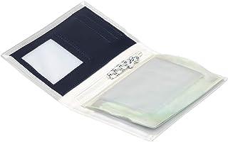 Trend Marine Sea Licence Brieftasche, Weiß/Marineblau aus Segeltuch