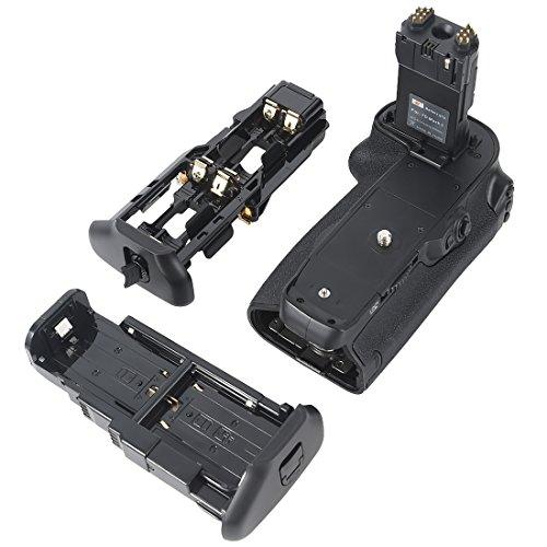 DSTE Multi-Poder Vertical Batería Apretón Titular Compatible con Canon EOS 7D Mark II DSLR Cámara Fotográfica como BG-E16