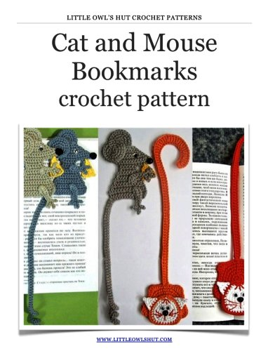 Amigurumi Mouse Bookmark Free Crochet Pattern | Crochet bookmarks ... | 500x382
