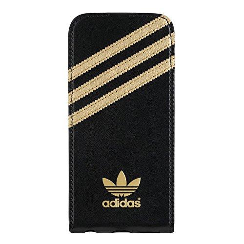 adidas Originals Flip Hülle iPhone 5/5s schwarz/gold