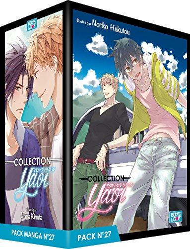 Pack Boy's Love - Partie 27 - 5 Mangas (Livres) - Yaoi