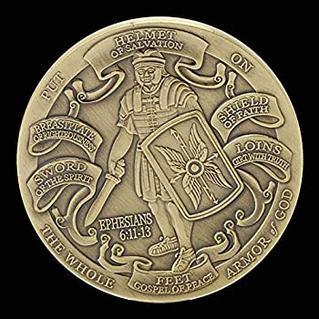 Armor of God High Relief Challenge Coin Collector s Medallion Jewelry Quality