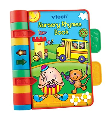 VTech Baby Nursery Rhymes Book | Light Up, Interactive, Musical Baby Book with Sounds & Phrases | Suitable for Babies from 6 Months+ by VTech
