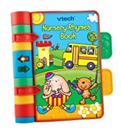 VTech Baby Nursery Rhymes Book | Light Up, Interactive, Musical Baby Book with Sounds & Phrases | Su...