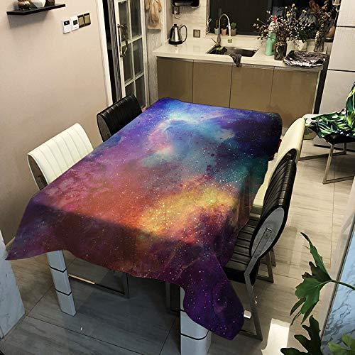 HEZESHOP Mantel al Aire Libre Mantel de Estilo nórdico Simple Impermeable Restaurante Hotel Hogar Mantel 140x140cm