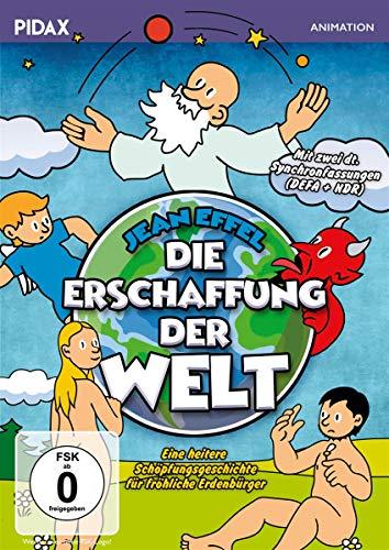 Die Erschaffung der Welt / Kulfilm nach den bekannten Geschichten von Jean Effel mit 2 deutschen Synchrongfassungen (Pidax Animation)