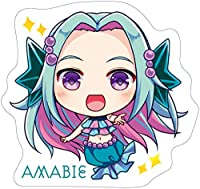 アマビエ かわいい 萌え キャラクター イラスト ステッカー