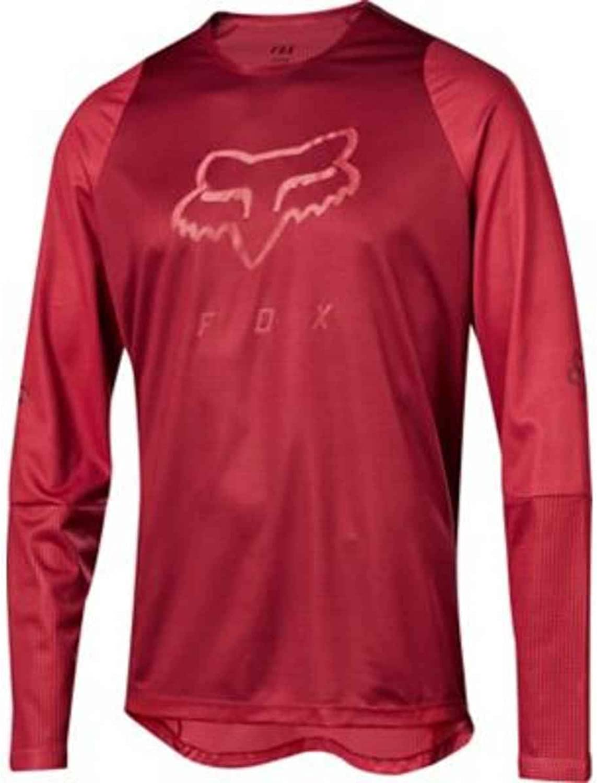 Fox Downhill-Jersey Langarm Defend Foxhead Cardinal