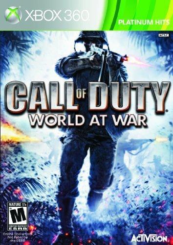 Activision Call of Duty: World at War - Platinum Hits Edition, Xbox 360 Xbox 360 Inglés vídeo - Juego (Xbox 360, Xbox 360, Shooter, M (Maduro))