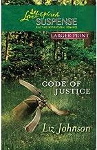 [CODE OF JUSTICE] BY Johnson, Liz (Author) Harlequin (publisher) Massmarketpaperback