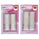 Best Eyelid Tapes - Double Eyelid Tapes,240Pairs instant eyelid lift strips Review